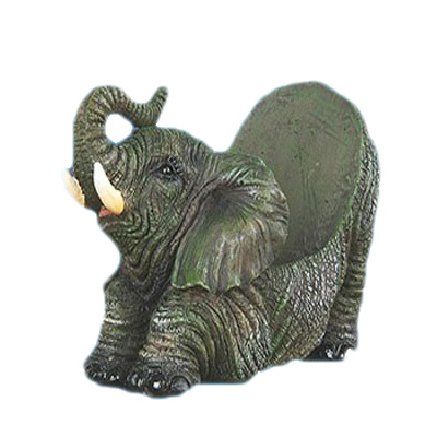 resin elephant phone stand