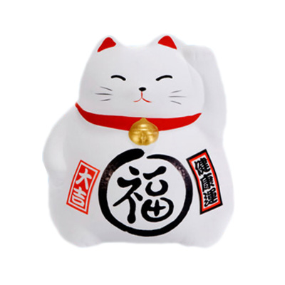 ceramic Japanese lucky cats decorations