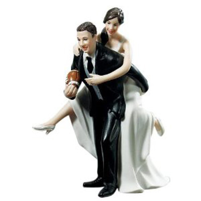 funny wedding cake figurines decoration