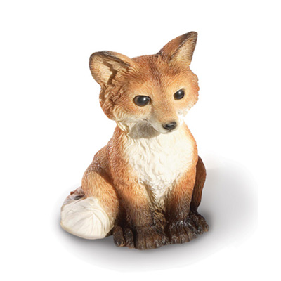 lovely fox figurine