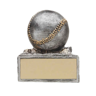 resin baseball ball trophy cup