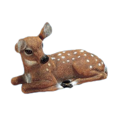 resin garden decor deer