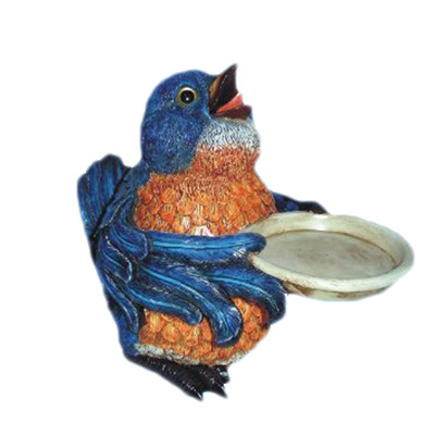 polyresin garden bird