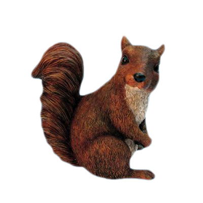 mini squirrel figurine