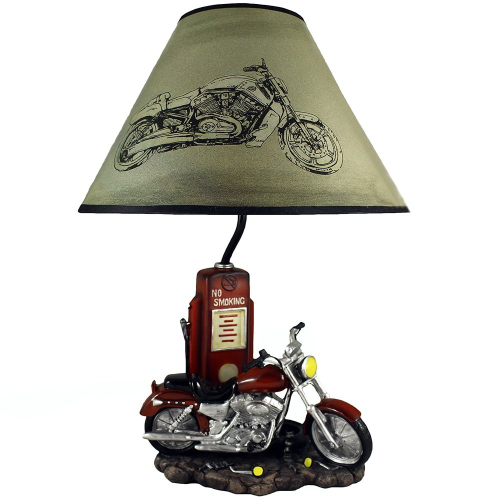 Antique Style Chopper Deco light