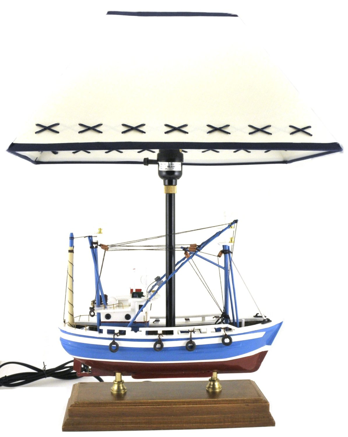 Ship Model Table Lamp